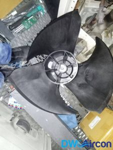 damaged-aircon-fan-aircon-not-cold-dw-aircon-singapore