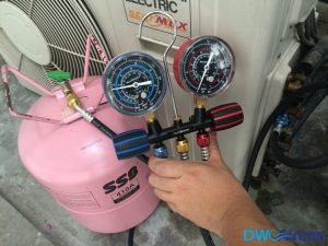 Aircon Gas Top Up DW Aircon Servicing Singapore HDB Toa Payoh