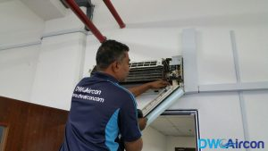 Aircon Leak Repair DW Aircon Servicing Singapore Commercial Jurong West