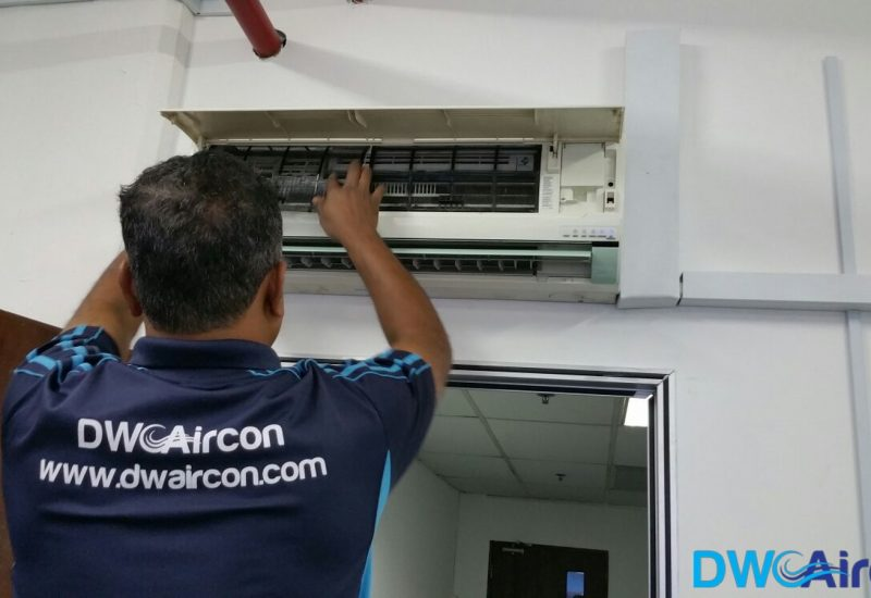 Aircon Leak Repair DW Aircon Servicing Singapore Commercial Jurong West 8