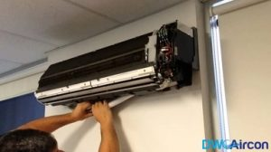 Aircon-Pipe-Leak-Repair-Dw-Aircon-Servicing-Singapore-HDB-Woodlands-2