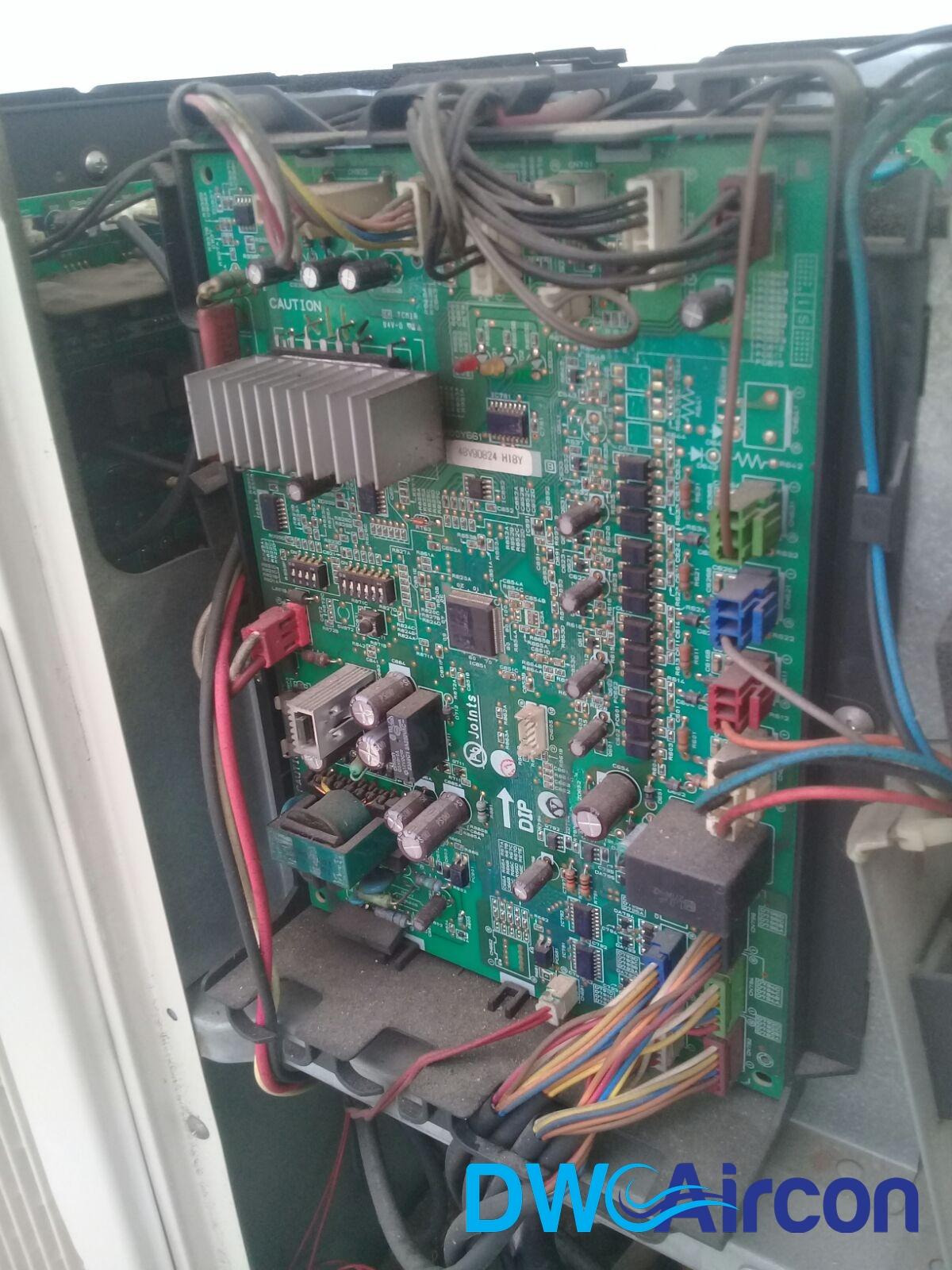 Aircon Pcb Repair Circuit Board Singapore Hdb Wiring A