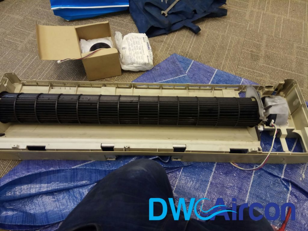 Aircon PCB Fan Motor Replacement Aircon Repair Singapore Office Raffles Place Cecil Street