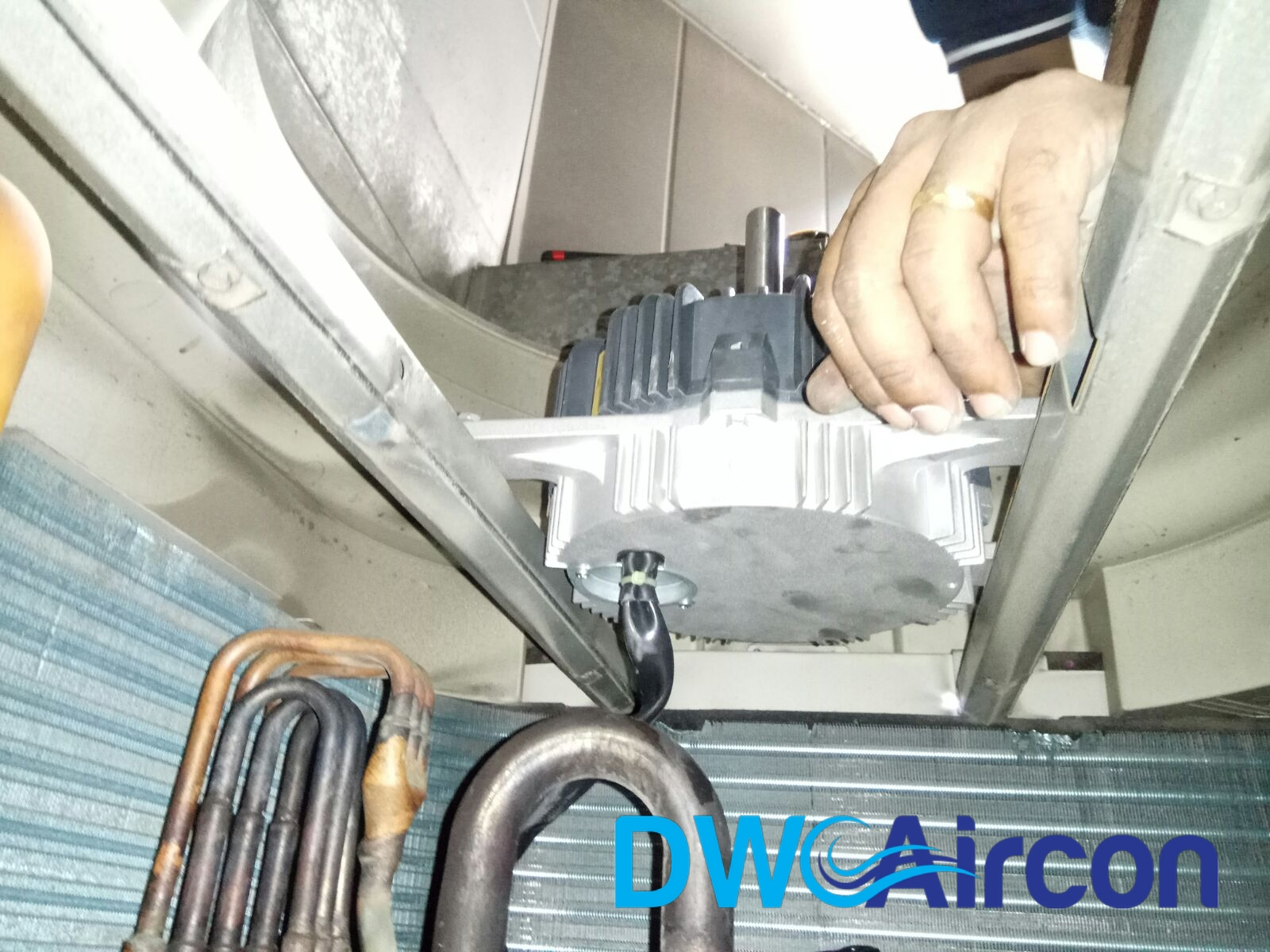 Daikin Aircon Fan Motor Replacement Aircon Repair Singapore Commercial Office