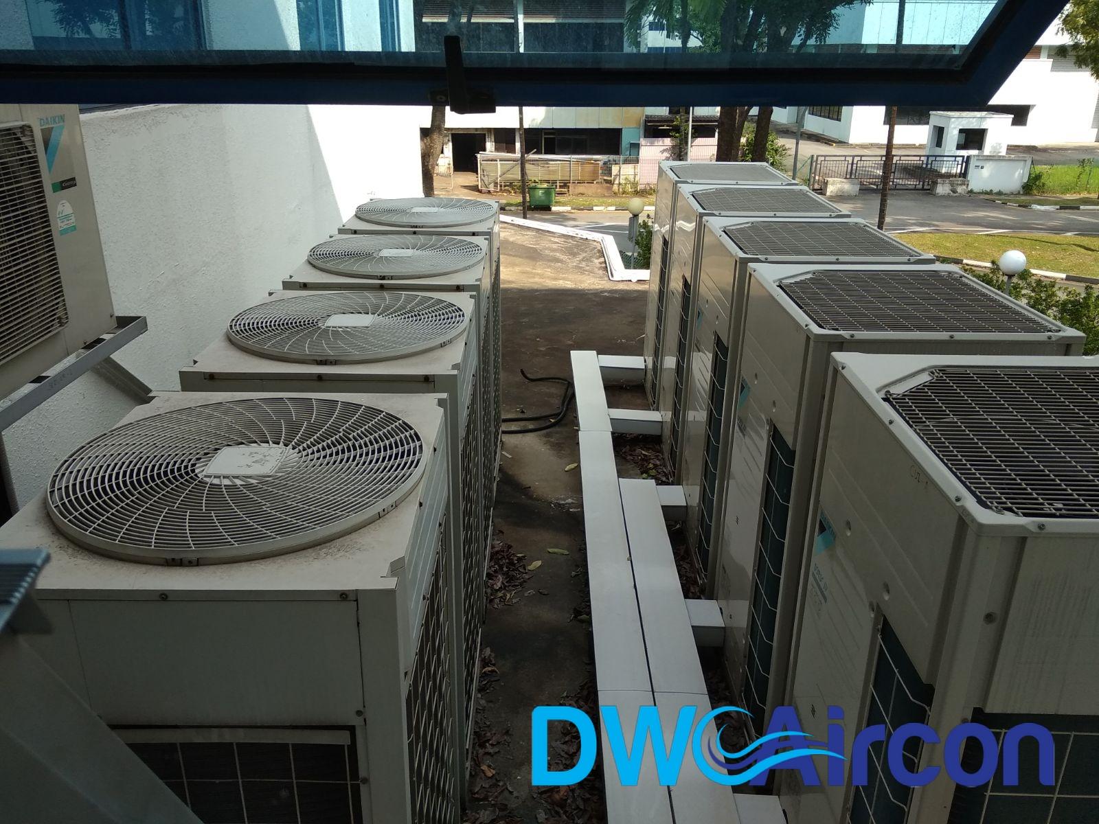 Aircon Repair VRV System Commercial Building Woodlands DW Aircon Servicing Singapore