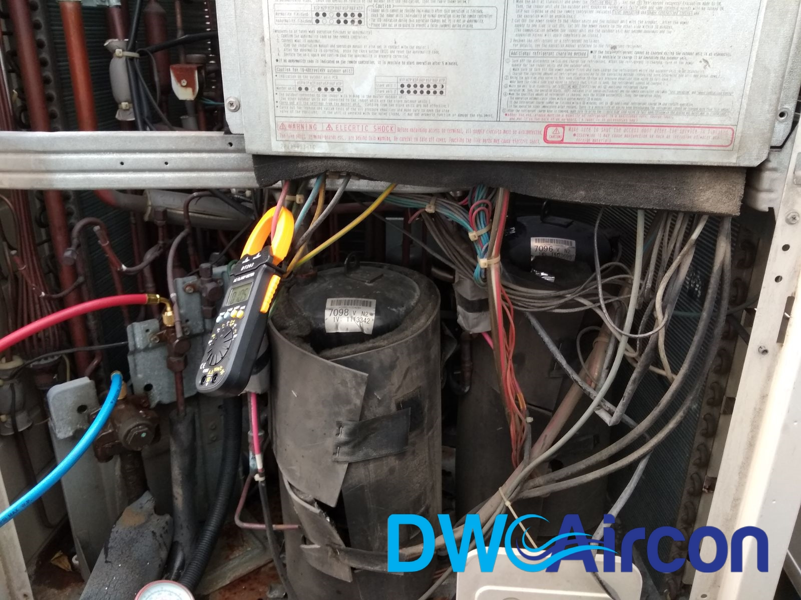 Daikin Vrv System Aircon Repair In Singapore Commercial Building Wiring A Woodlands Dw