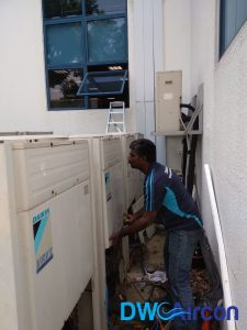 Quality Aircon Repair VRV System Commercial Building Woodlands DW Aircon Servicing Singapore