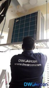 Condenser Aircon Installation DW Aircon Servicing Singapore Condo Cashew Road 1