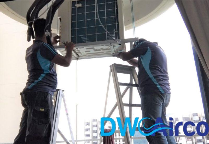 Condenser Aircon Installation DW Aircon Servicing Singapore Condo Cashew Road