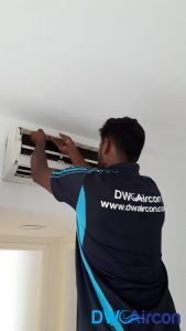 Fan Coil Aircon Installation DW Aircon Servicing Singapore Condo Cashew Road 5