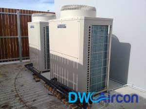 vrf system commercial aircon dw aircon servicing singapore