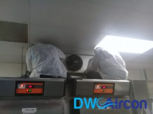 Normal aircon Servicing dw aircon servicing commercial tai seng 10