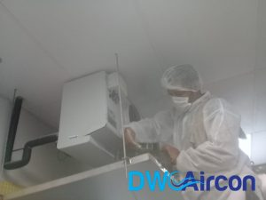 Normal aircon Servicing dw aircon servicing commercial tai seng 2