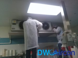 Normal aircon Servicing dw aircon servicing commercial tai seng 5