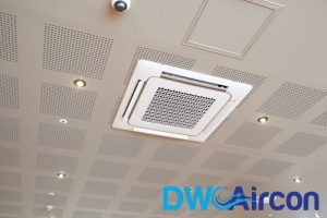 cassette office aircon dw aircon servicing singapore
