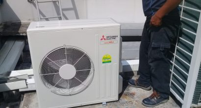 condenser replacement aircon repair dw aircon servicing singapore commercial building woodlands 2