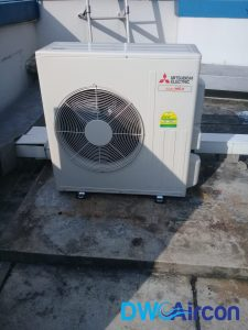 condenser replacement aircon repair dw aircon servicing singapore commercial building woodlands 3