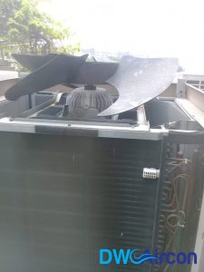 fan motor replacement aircon repair dw aircon servicing singapore commercial building woodlands 3
