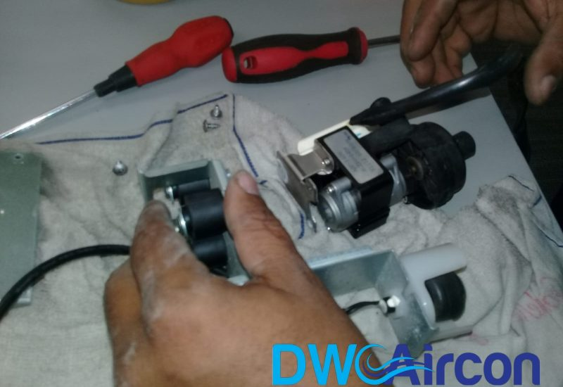 float switch replacement aircon repair dw aircon servicing singapore commercial building woodlands