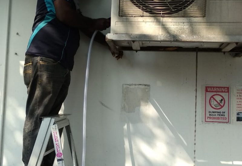 normal aircon servicing dw aircon servicing singapore commercial dempsey road 5