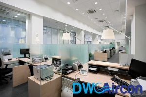office central air conditioning system dw aircon servicing singapore