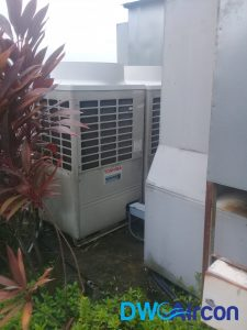 pcb fan motor replacement aircon repair dw aircon servicing singapore commercial building woodlands