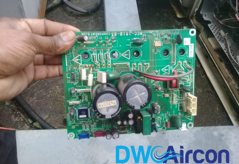 pcb replacement aircon repair dw aircon servicing singapore commercial building woodlands 1