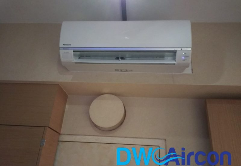 Aircon Installation DW Aircon Servicing Singapore Condo Orchard 8