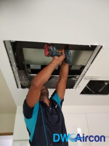 aircon chemical overhaul dw aircon servicing singapore condo novena 3