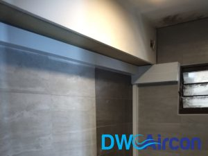 aircon trunking piping wiring replacement dw aircon servicing singapore hdb tiong bahru 2