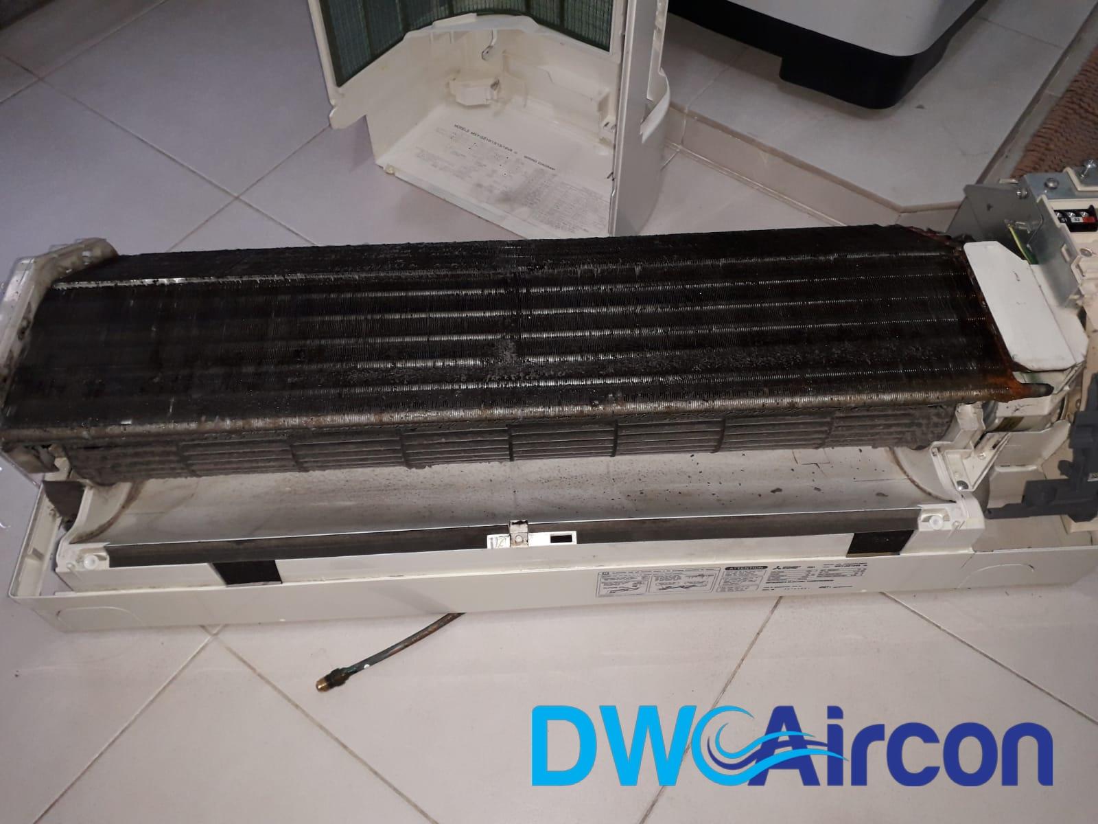 aircon servicing aircon chemical overhaul dw aircon singapore hdb tiong bahru