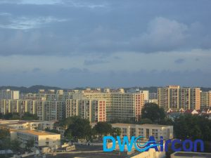 dw aircon servicing locations singapore north east region
