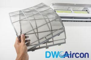 Clean Aircon Filters Dw Aircon Servicing Singapore_wm