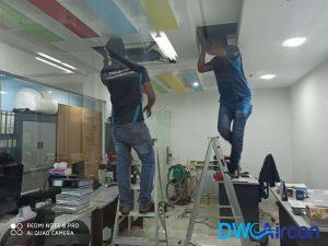 chemical-overhaul-ceiling-casette-fan-coil-aircon-servicing-singapore-commercial-tiong-bahru-11