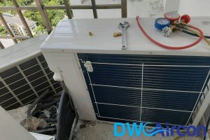 fan-coils-of-outdoor-unit-aircon-chemical-overhaul-dw-aircon-singapore