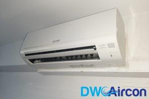 wall-mounted-mitsubishi-hdb-aircon-installation-dw-aircon-singapore