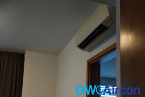 aircon-installation-above-door-aircon-servicing-dw-aircon-servicing-singapore