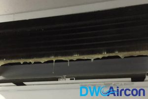aircon-leaking-water-aircon-servicing-dw-aircon-servicing-singapore