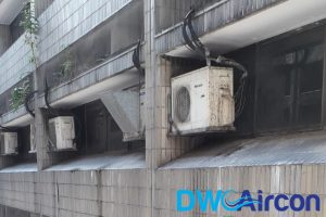 dirty-outdoor-unit-aircon-servicing-dw-aircon-servicing-singapore